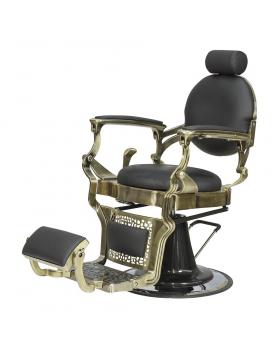 "Кресло мужское барбер ""Ричард"" каркас медного цвета"